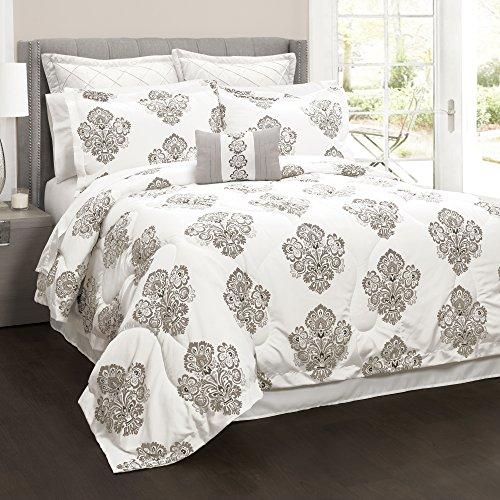 Damask Euro Comforter - 2