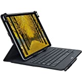 """Logitech Universal Folio with Integrated Bluetooth 3.0 Keyboard for 9-10"""" Apple, Android, Windows Tablets (920-008334) (Renew"""
