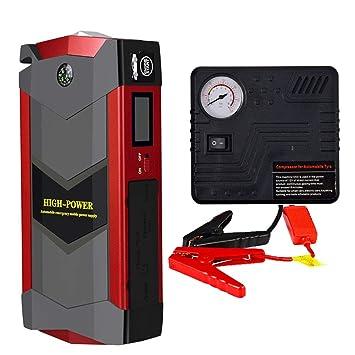 Coche Jump Starter auto cargador de batería para 12V ...