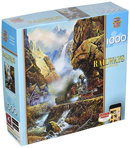 Pandoras Box Puzzle (MasterPieces Railways Pandora Rail Jigsaw Puzzle,Art by Ted Blaylock, 1000-Piece)