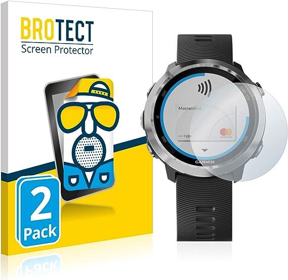 savvies Protector Pantalla Compatible con Garmin Approach G10 6 Unidades Pelicula Ultra Transparente