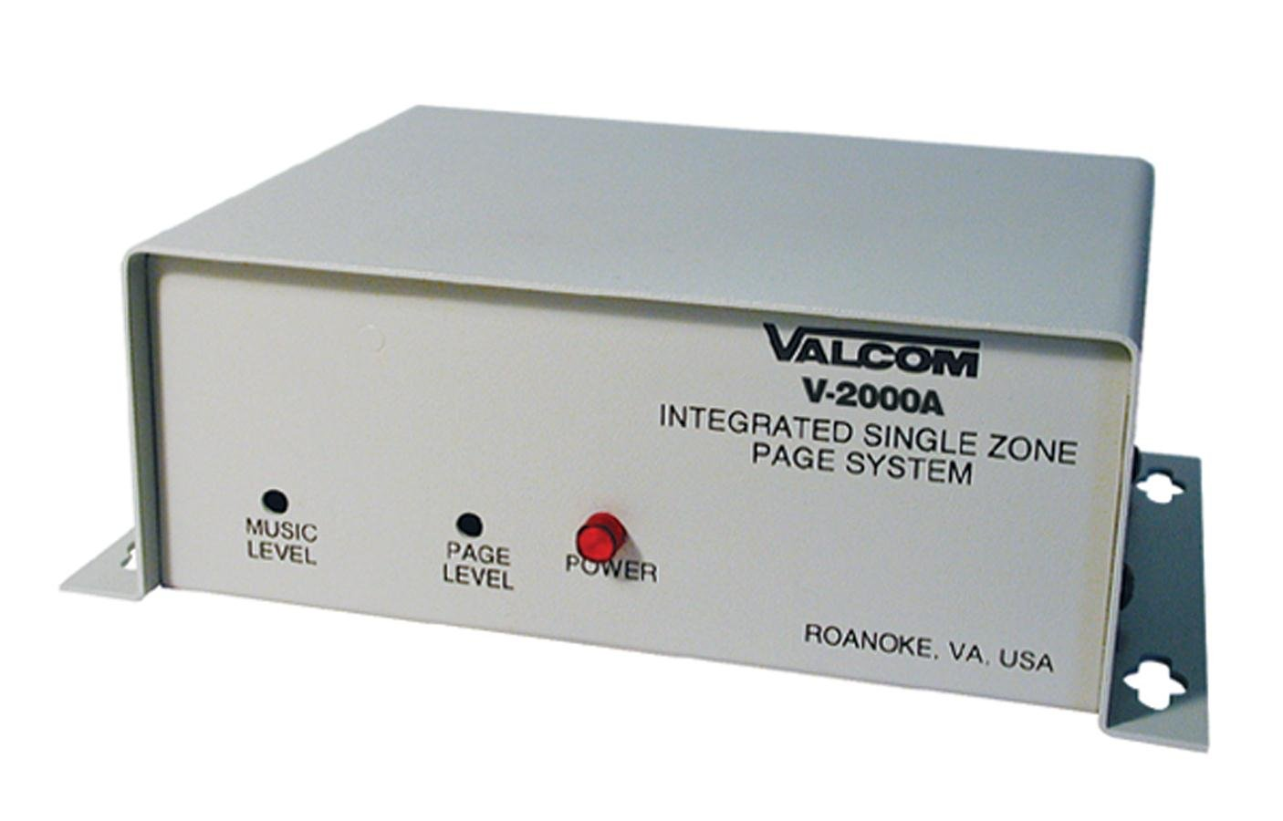 61LPi63xupL._SL1406_ amazon com valcom v 2000a one way 1 zone page control with power  at alyssarenee.co