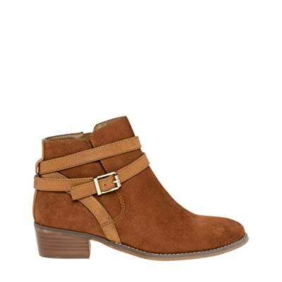 LE CHÂTEAU Almond Toe Suede-Like Ankle Boot | Ankle & Bootie