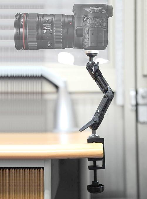 Universal Soporte Trípode fotográfico y metal con pinza para mesa ...