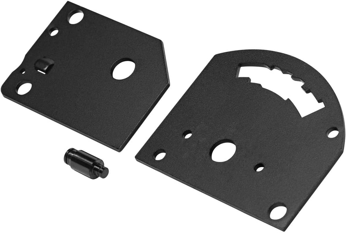 B/&M 80733 Shift Gate Plate Off-Road For all B/&M Prostick Shifters Automatic Transmission Shifter Plate Shift Gate Plate Off-Road For Prostick Shifters