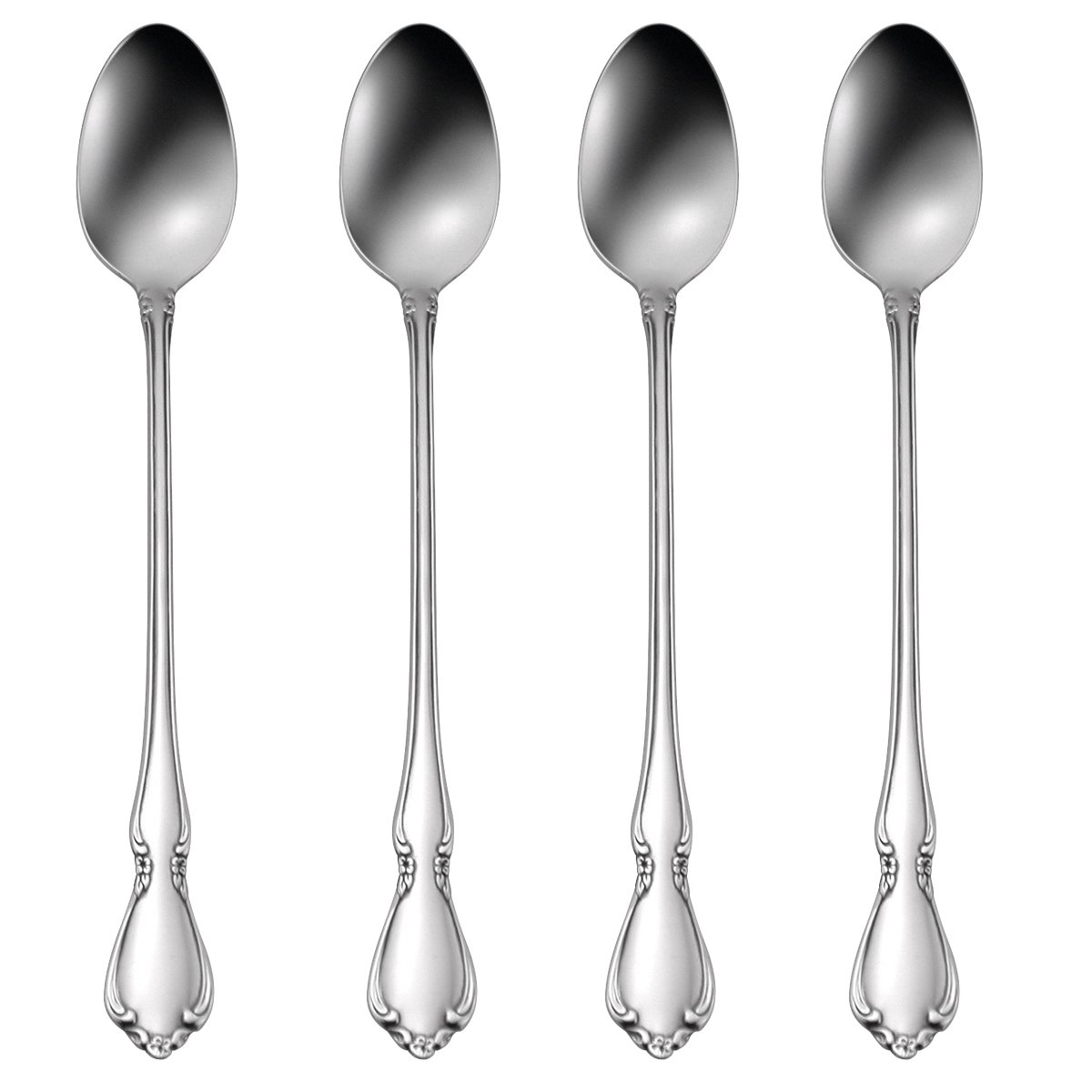 Oneida Chateau Iced Tea Spoons, Set of 4
