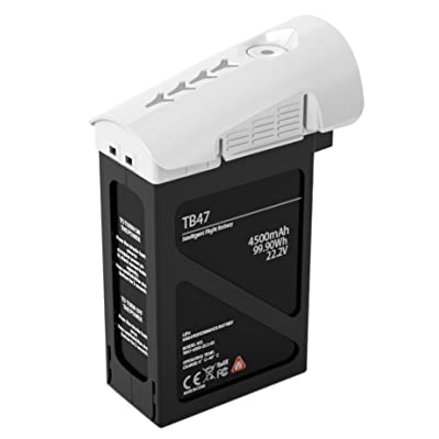DJI TB47 4500mAh Inspire 1 Battery (White): Camera & Photo