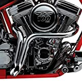 2'' Chrome Y-Pipes Custom Exhaust for Harley-Davidson Softail Dyna FL Touring Models