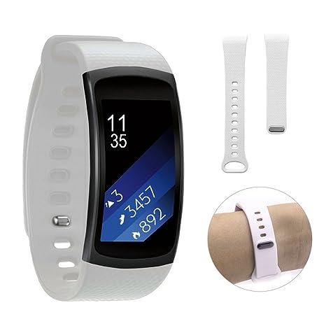 Dokpav® Samsung Gear Fit 2 Banda de Reemplazo Pulsera Ajustable Correa de Reloj para Samsung