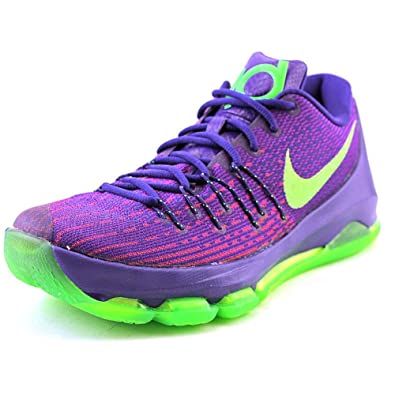 3c8418b1136a NIKE Mens KD 8 Low-Top Basketball Shoes (Purple