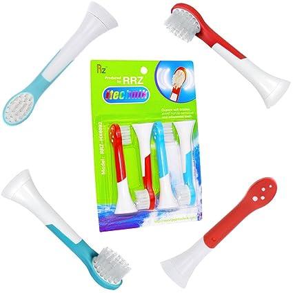 cabezales de cepillo de dientes electrónico – Cabezales para cepillo de dientes eléctrico para niños para