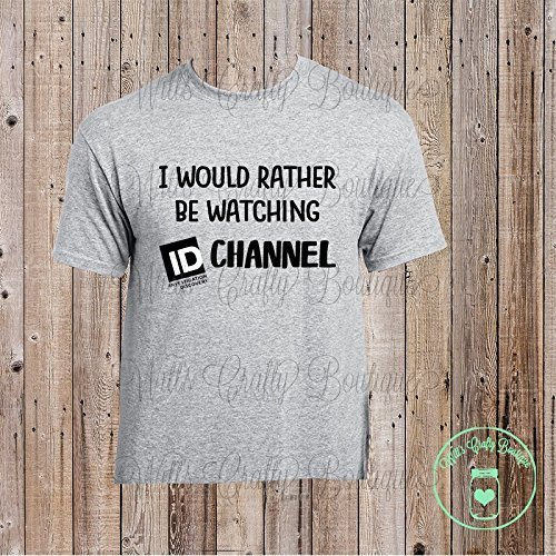 ID Channel T-shirt by Witt's Crafty Boutique