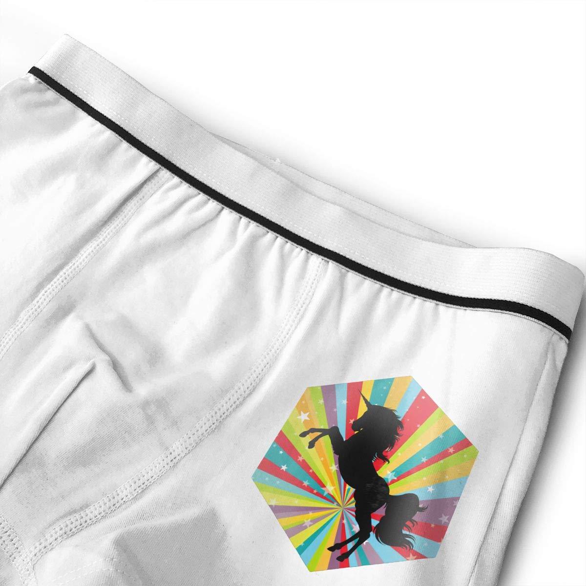 LGBT Unicorn Kids Cotton Boxer Briefs Underwear