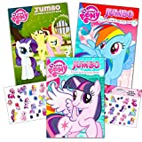 mlp coloring book - My Little Pony Coloring Book Super Set with Stickers (3 Jumbo Books - Approximately 200 Pages and 30 My Little Pony Stickers Total Featuring Rainbow Dash, Fluttershy, Pinkie Pie and More!)