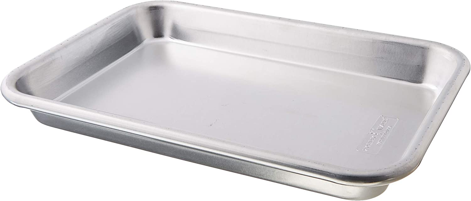 Nordic Ware 1/8 Sheet Pan, One Size, Aluminum