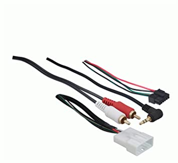 61LPnMMJW6L._SX355_ amazon com metra 70 8114 steering wheel control wire harness with Toyota Stereo Wiring Diagram at eliteediting.co