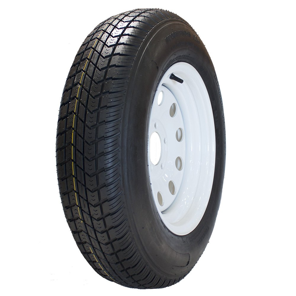 MARASTAR ST205/75D15 LRC High Speed Trailer Tire Assembly REPLACEMENT for CARRY-ON 80401-CO