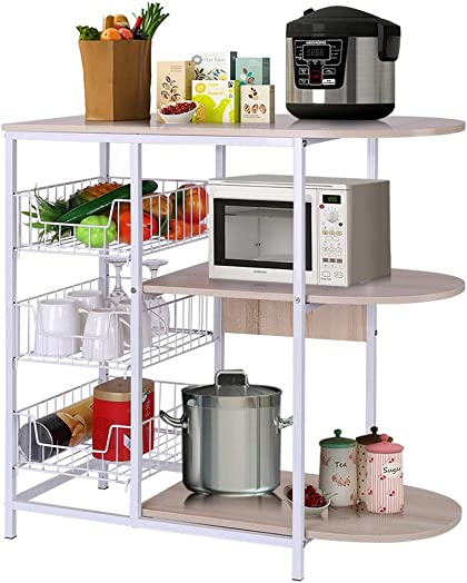 Mostbest 4 Tier Kitchen Baker's Rack
