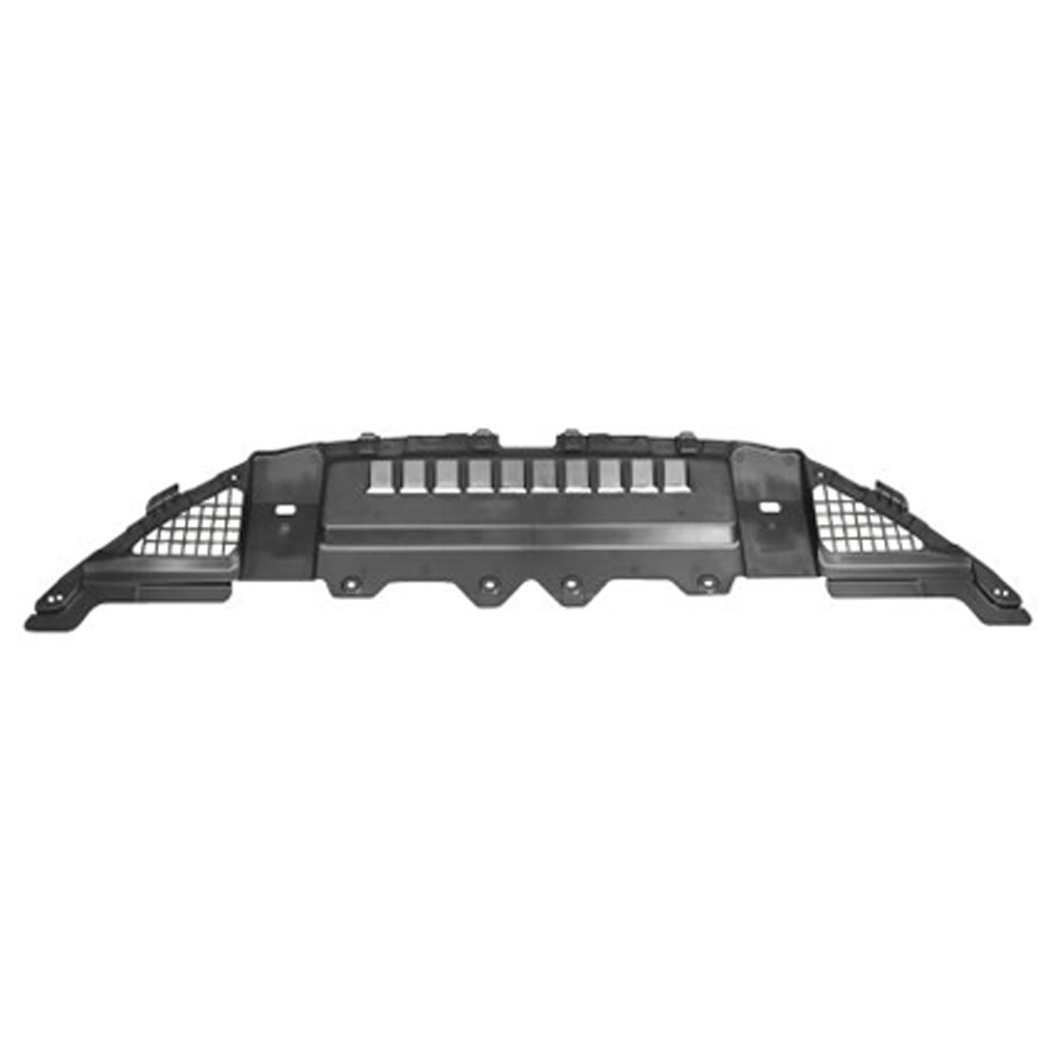 OE Replacement 2007-2010 CHEVROLET PICKUP/_CHEVY/_SILVERADO Radiator Support Cover Partslink Number GM1224112