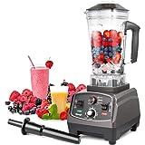 Frullatore MengK Smoothie Maker Mixer Professionale Blender Miscelatore Ideale per Preparare Frullati Cocktail Zuppe e Succhi, 2 litri di Capacità 1400 Watt BPA Free…… …