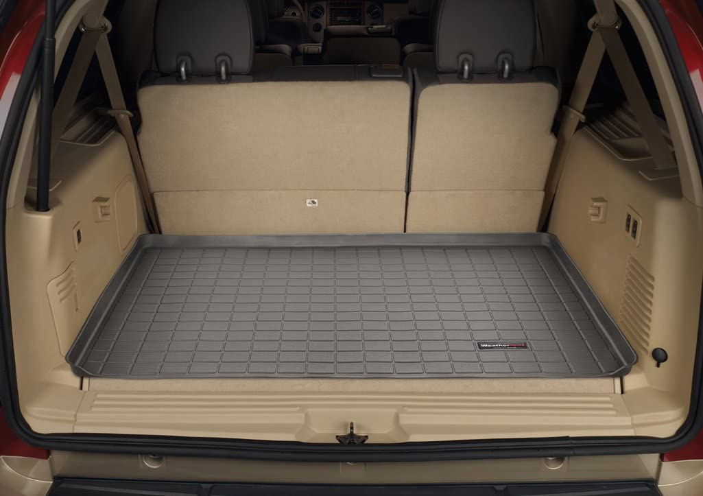 Amazon Com Weathertech Custom Fit Cargo Liners For Ford Expedition El Black Automotive