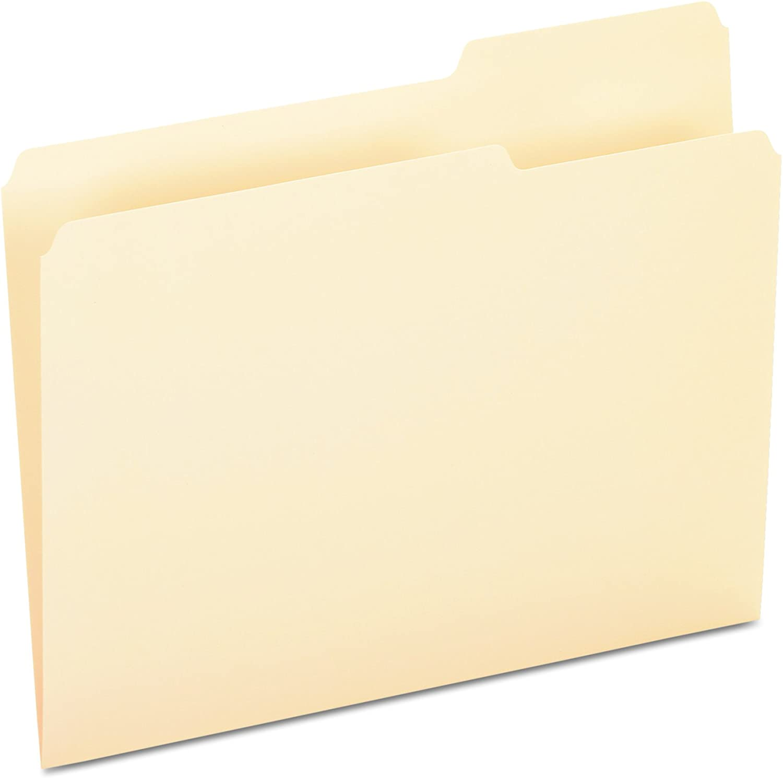 "Pendaflex Anti Mold And Mildew End Tab Fastener Folders 8.50/"" X 11/"" Letter"