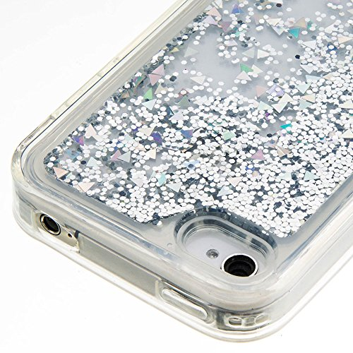 Per Apple iPhone 4 4G 4S (3,5 Pollici) Custodia ZeWoo® Custodie in TPU silicone Case Cover - GS126 / Silver Sands