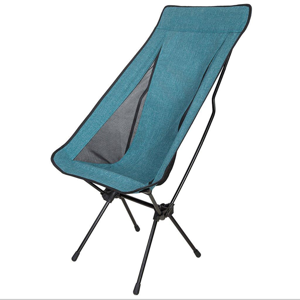 ZYN Outdoor Portable Ultraleicht Klappstuhl Angeln Liegestuhl Leichte Sessel Strandkorb