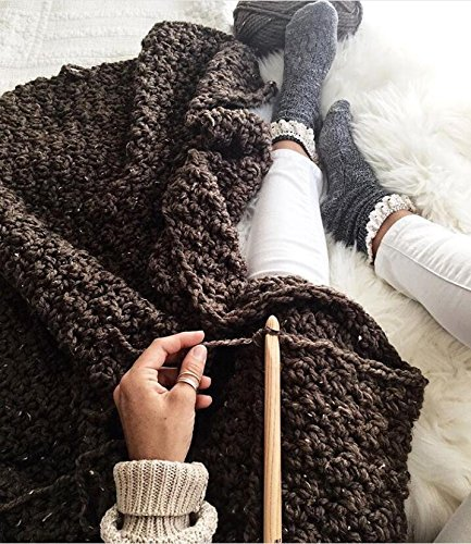 20 Carbonized Bamboo Crochet Hooks, Full Gift Set, Lightweight, Ergonomic, Eco-Friendly, Size C to N, Steel Hook Sizes 1.0-2.75MM by KOKNIT (Image #7)