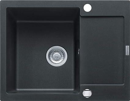 Franke mrg 611 – 62 Onyx nero Fragranit lavello cucina Lavello da incasso  Lavello