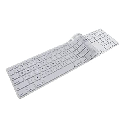 outlet store e5296 d1650 iMac Wired USB Keyboard Cover, Ultra Thin Soft Silicone Keyboard Cover Skin  for Apple(G6) iMac keyboard with numeric keypad wired USB(MB110LL/B)