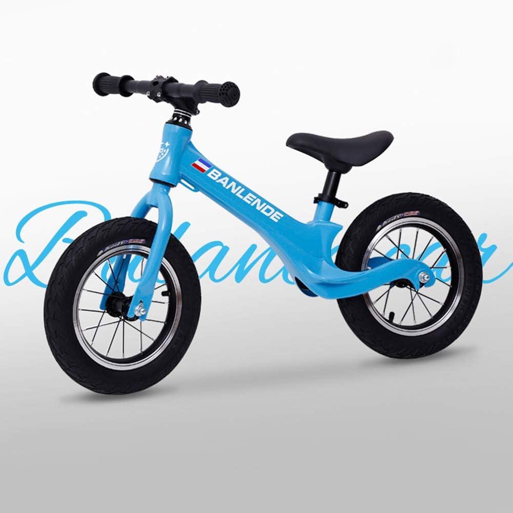 ZTIANR Los Niños Bicicleta De Equilibrio Sin Pedal De 2-6 Años De Seguridad para Niños Kid Bicicletas Correderas De Bicicletas De 12
