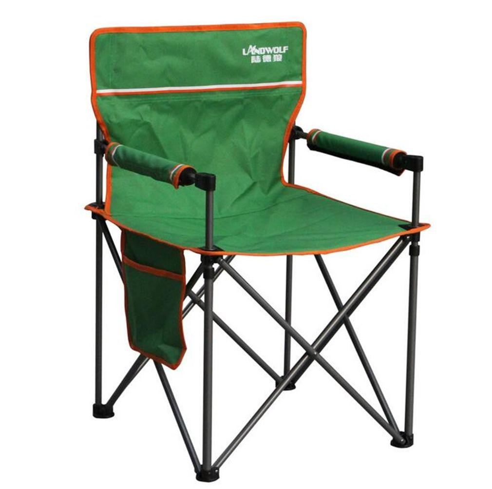 ZHDNG Mond Stuhl Klappstuhl im Freien Hinterhof Camping Rest Stuhl