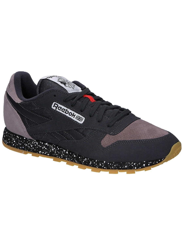 Reebok Herren Sneaker Classic Leather SM Sneakers Coal/Moondust/Black