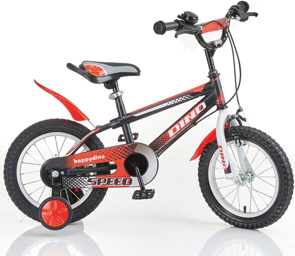 Xiaoping Bicicleta de los niños de los niños de 3-6 años de Chicos Ciclistas Porta bebé de 14 Pulgadas de los niños Multicolor de Bicicletas: Amazon.es: Deportes y aire libre