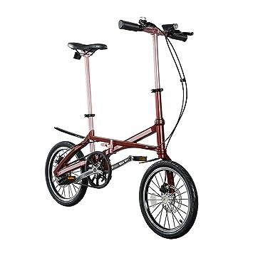 16 Pulgadas Carbon swemo bicicleta plegable