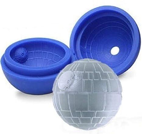 STAR WARS: Molde de silicona para Cubitos de hielo, Jabón, Chocolate, para