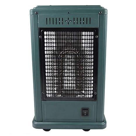 Calefactor Eléctrico,Calefactor Doméstico de Bajo Consumo,Forma de U Calefactor Multidireccional de Tubo