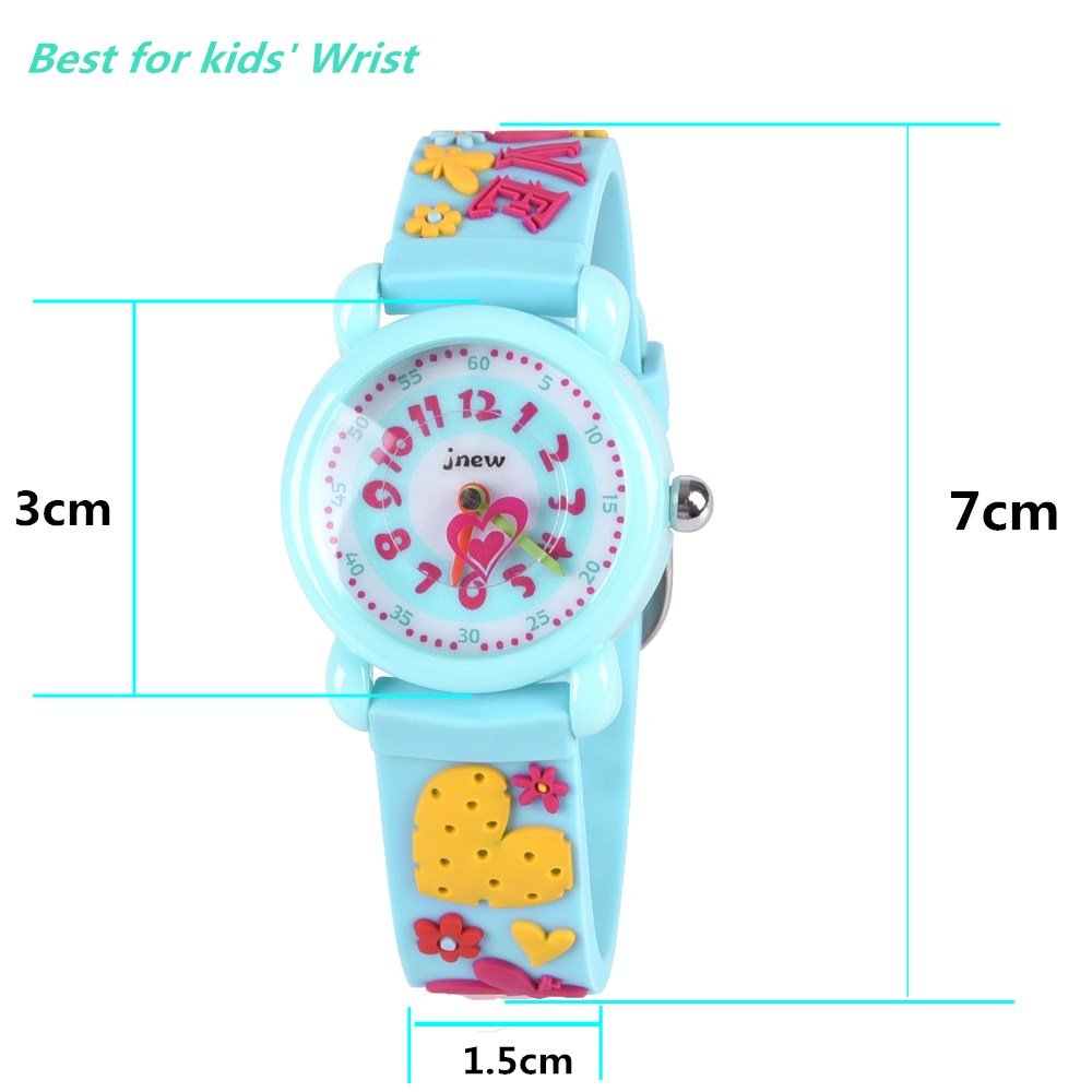 Gift for 3-10 Year Old Girls, Kids Watch for Kids Toy for 3-10 Year Old Girl Gift for Girl Age 3-10 Wristwatch Present for Birthday Little Girl Children by Kids Gift (Image #5)