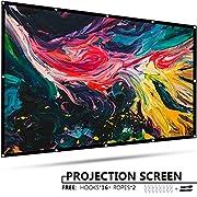 #LightningDeal EleTab Projector Screen Portable Outdoor Indoor Projector Movies Screen