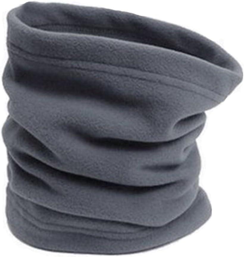 Taille unique gris Cache-cou thermique en polaire