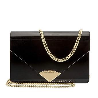 e9d3c1baa604 Amazon.com: Michael Kors Barbara Ladies Medium Resin Envelope Clutch ...
