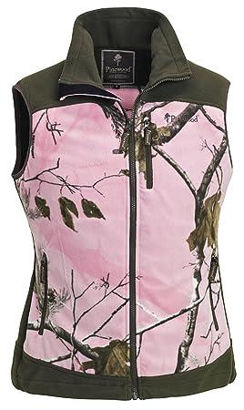 Pinewood Henrietta Mujer Chaleco, Color Ap Pink/Jagdgrün, tamaño ...