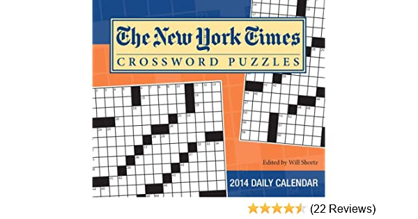 The New York Times Crossword Puzzles 2014 Calendar: The New