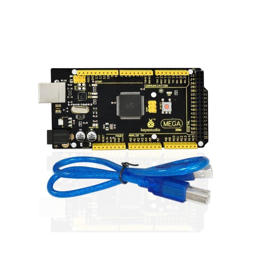 KEYESTUDIO Mega 2560 Board for Arduino +USB Cable
