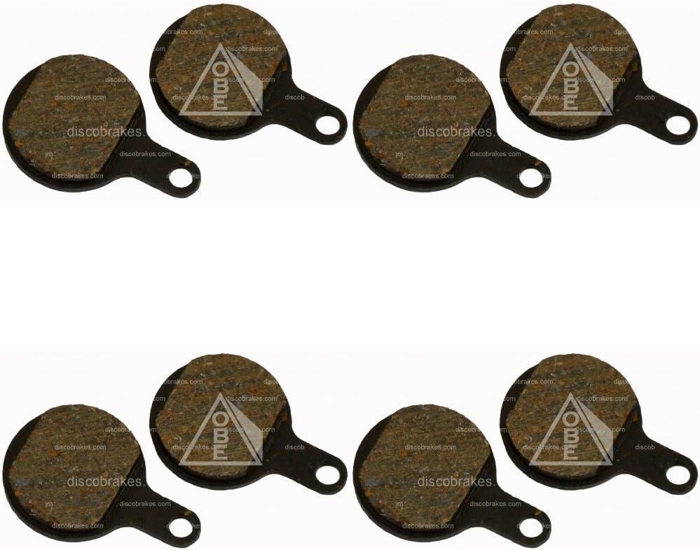2 PAIRS BICYCLE DISC BRAKE PADS FOR TEKTRO IOX LYRA NOVELA DISC BRAKE disc