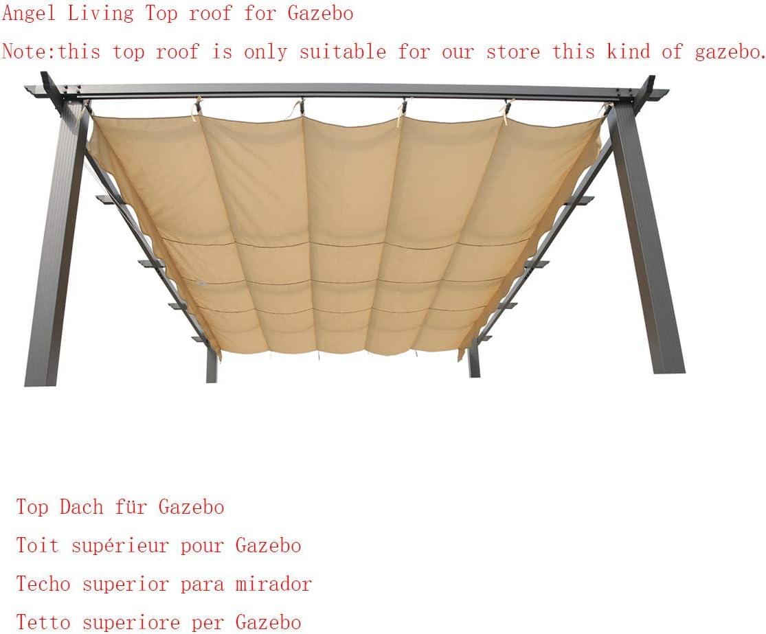 Angel Living Recambio de Top Roof de Poliéster para 3x4M Pérgola ...