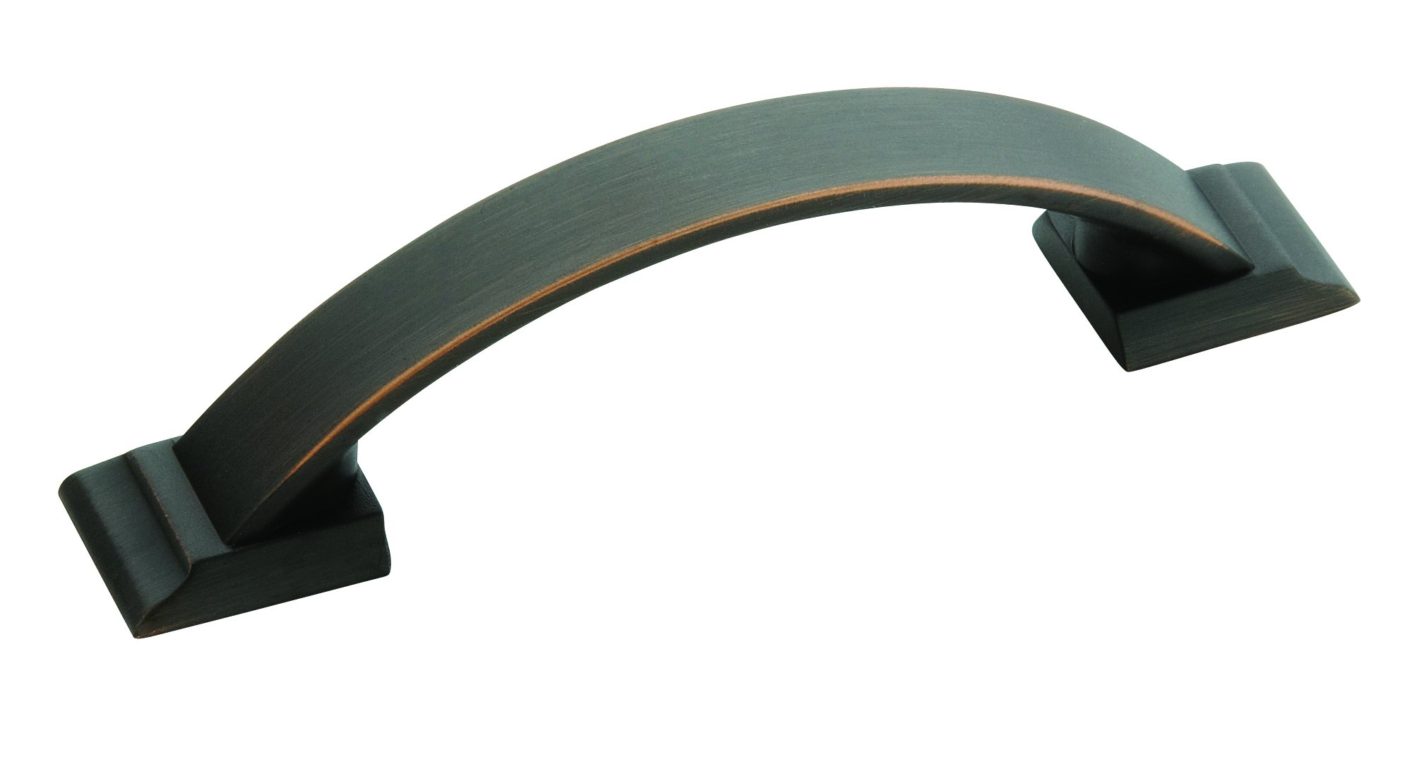 Amerock Candler 3 in (76 mm) Center-to-Center Oil-Rubbed Bronze Cabinet Pull - 10 Pack
