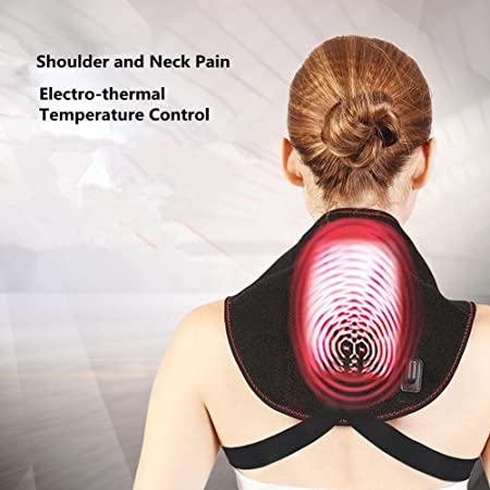 electrotérmico moxibustión correas del cuello de calefacción ...