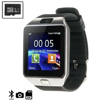 Silica DMN235SD16 - Smartwatch tekkiwear Dama n235 con Micro SD de ...